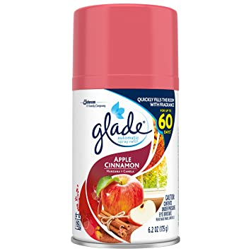 Amazon Glade Automatic Spray Refill Apple Cinnamon 62 Ounce