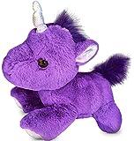 "Unicorn Stuffed Animal - Plush Toy - 12"" Cute, Fluffy, Purple Unicorn - Gift For Kids Teens and Unicorn Lovers"