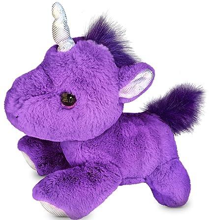Amazon Com Checkered Fun Unicorn Stuffed Animal Plush Toy 12