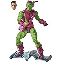 Hasbro Marvel Legends Series Spider-Man - Figura coleccionable del Duende Verde de 15 cm - Colección Retro