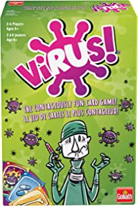 Goliath Virus Card Game The Contagiously Fun Card Game, Green (108644)