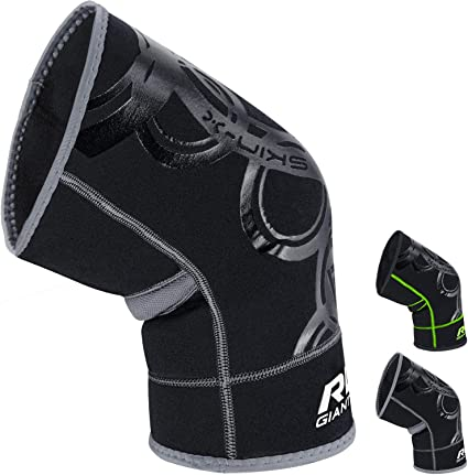 Meniscus Tear Pain Relief Running Neoprene Protector for ACL SOLD AS SINGLE ITEM RDX Knee Support Brace for Arthritis Compression Sleeve for Sports Tendonitis Squats Weightlifting MCL