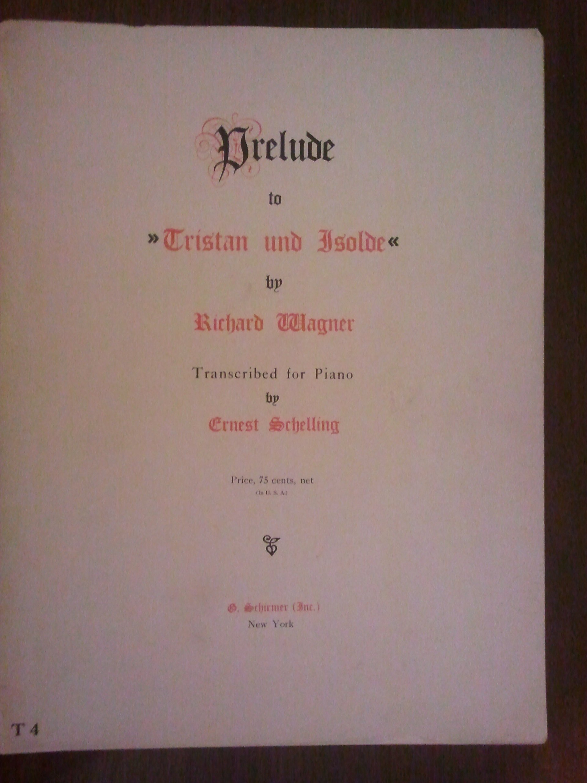 Preludio Triston Partitura Pdf Download