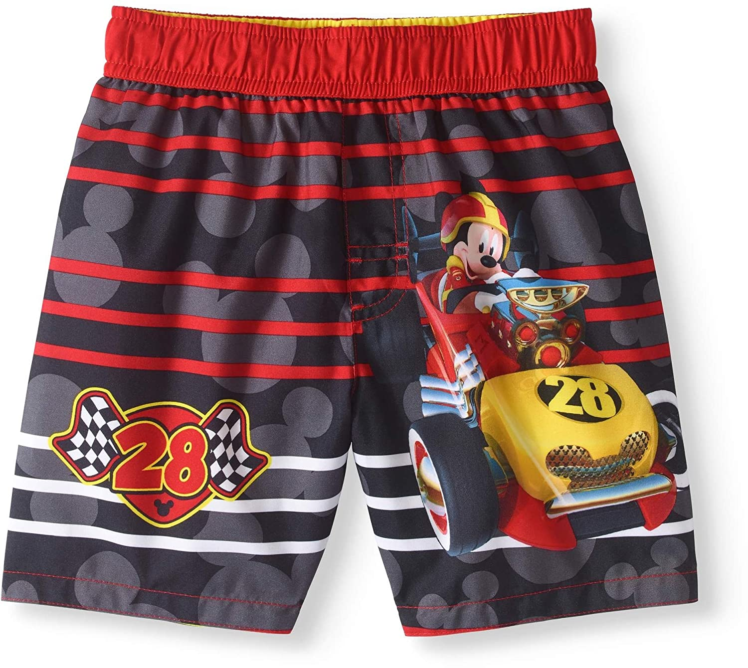 Fashion Toddler Boys Disney Mickey Mouse Roadster Racers Swim Short Trunk