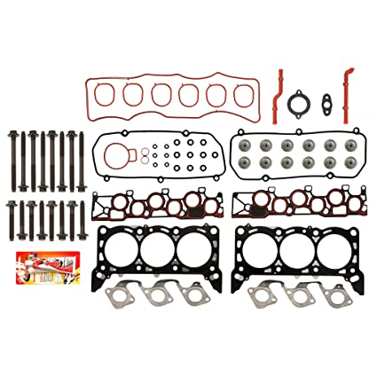 Head Gasket Set Manifold Valve Kit For 99-03 Ford Windstar 3.8L V6 VIN Code 4