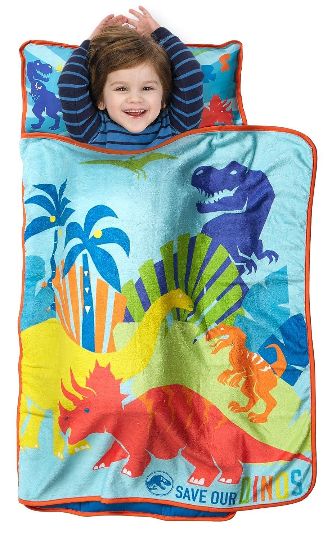 Jurassic World Save Our Dinos 4 Piece Toddler Bed Set, Blue Baby Boom JUR145