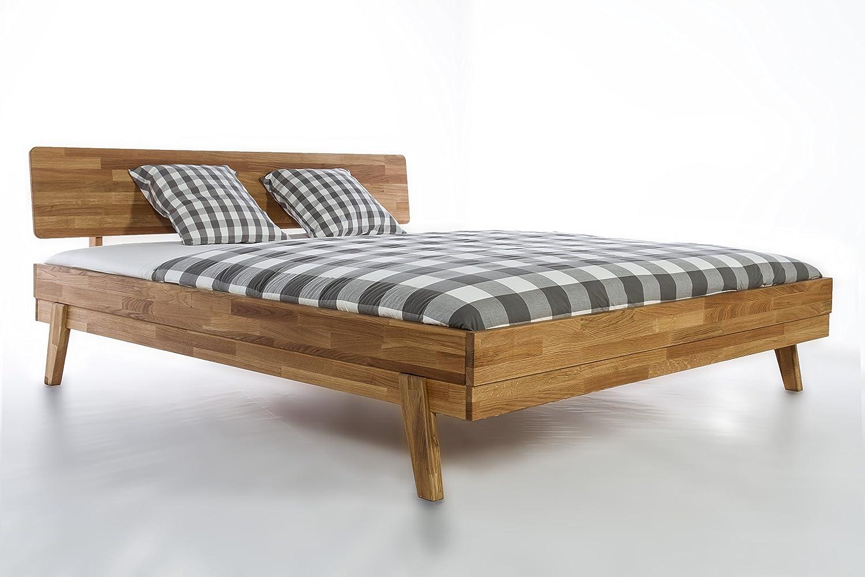 Massivholzbett Milano Doppelbett Bett Massiv Wildeiche NEU OVP ...