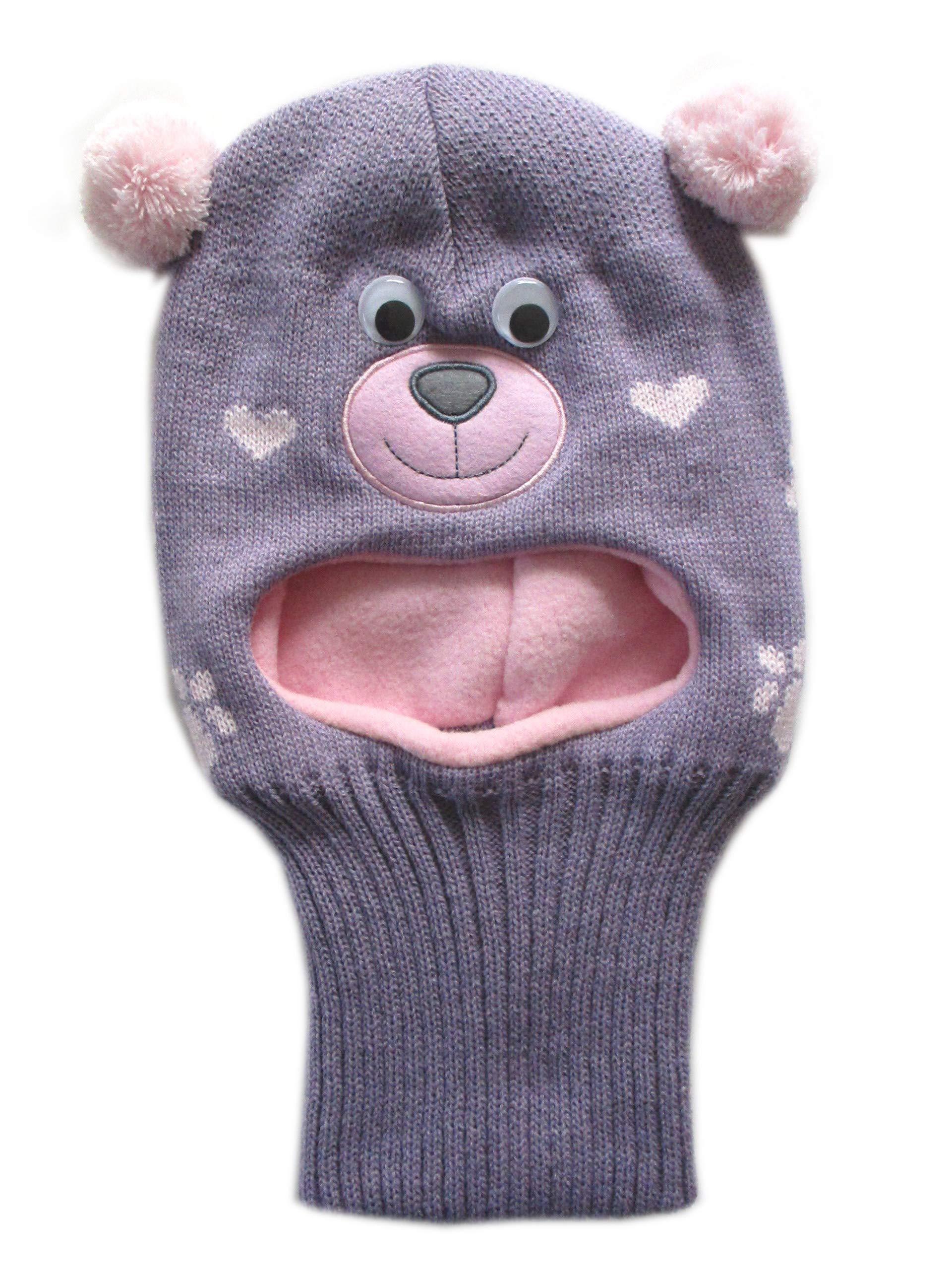 bf111b4e1ea61 Frost Hats Warm Winter Hat Fleece Lined Balaclava for Kids Ski Mask for  Girls M-