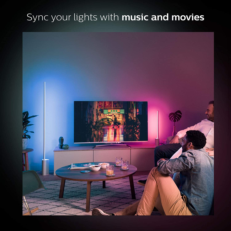 Philips Hue White /& Color ambiance Signe /Éclairage au sol 14 W Aluminium