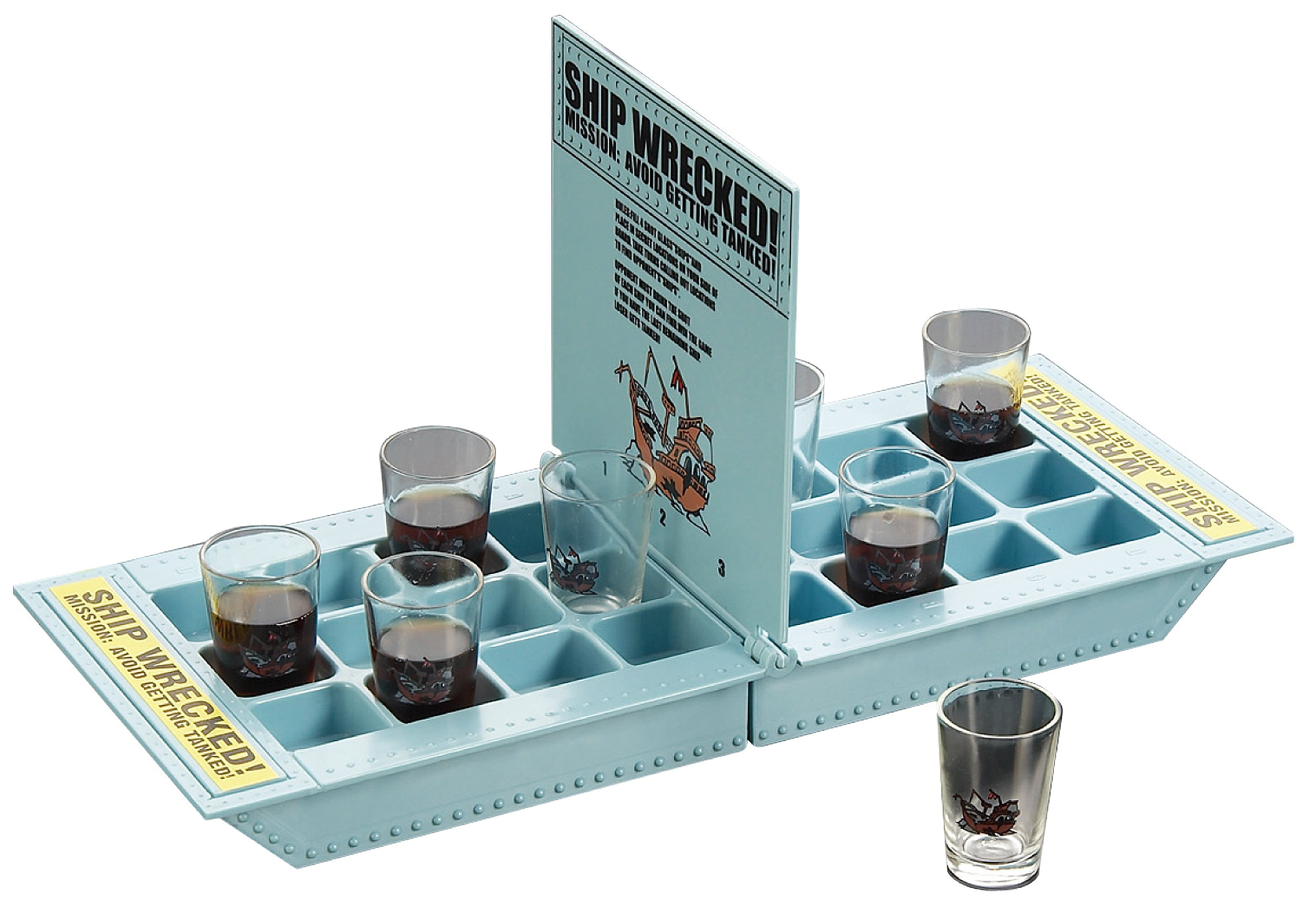 Fairly Odd Novelties Who Needs a Ship? Take Your Shots Into Battle Shipwreck Drinking Game