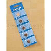 Eunicell CR1220 5012LC Lithium Blister Pack 3V 3 Volt Coin Cell Batteries (10 pcs) by Eunicell