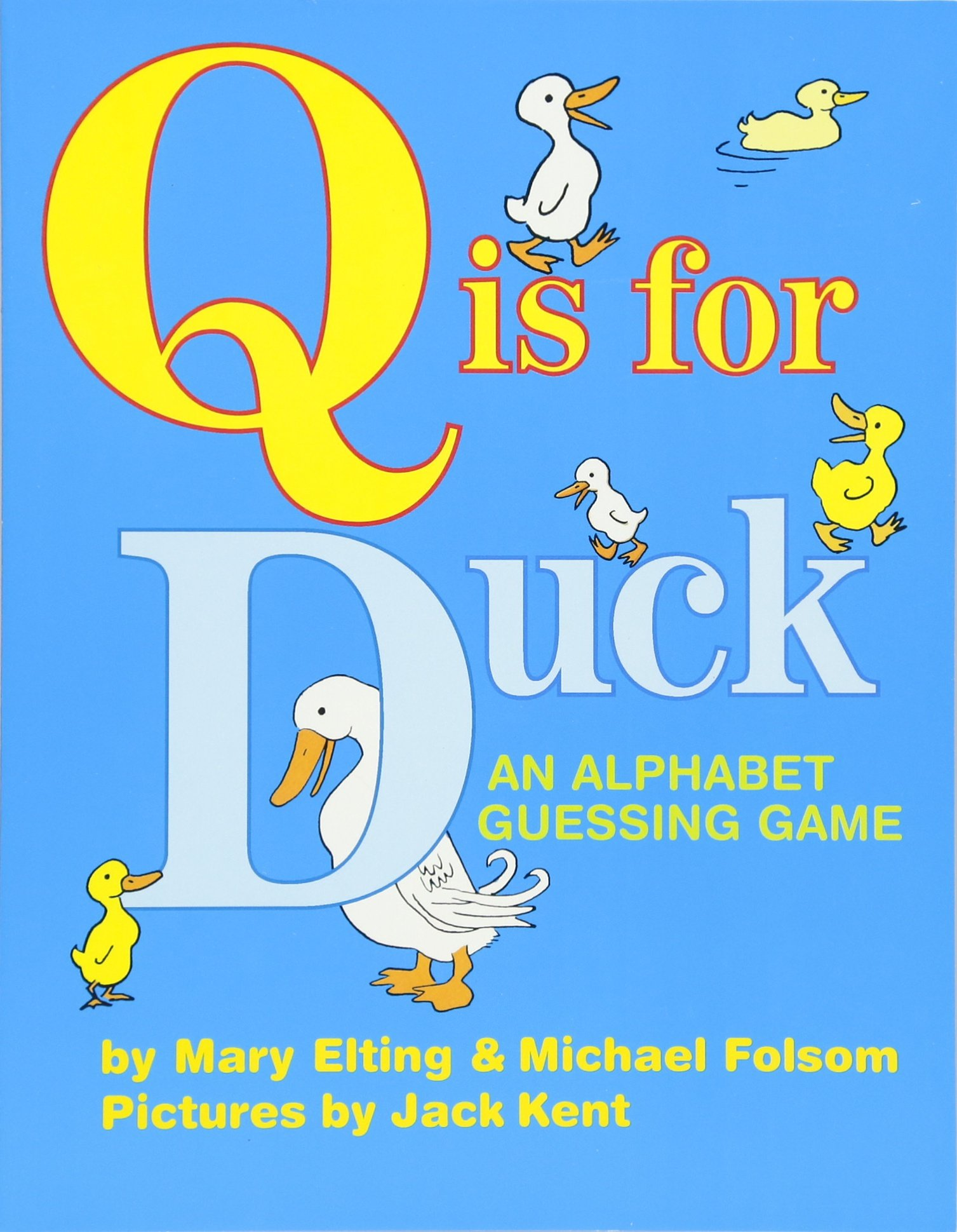 Amazon.com: Q Is for Duck: An Alphabet Guessing Game ...
