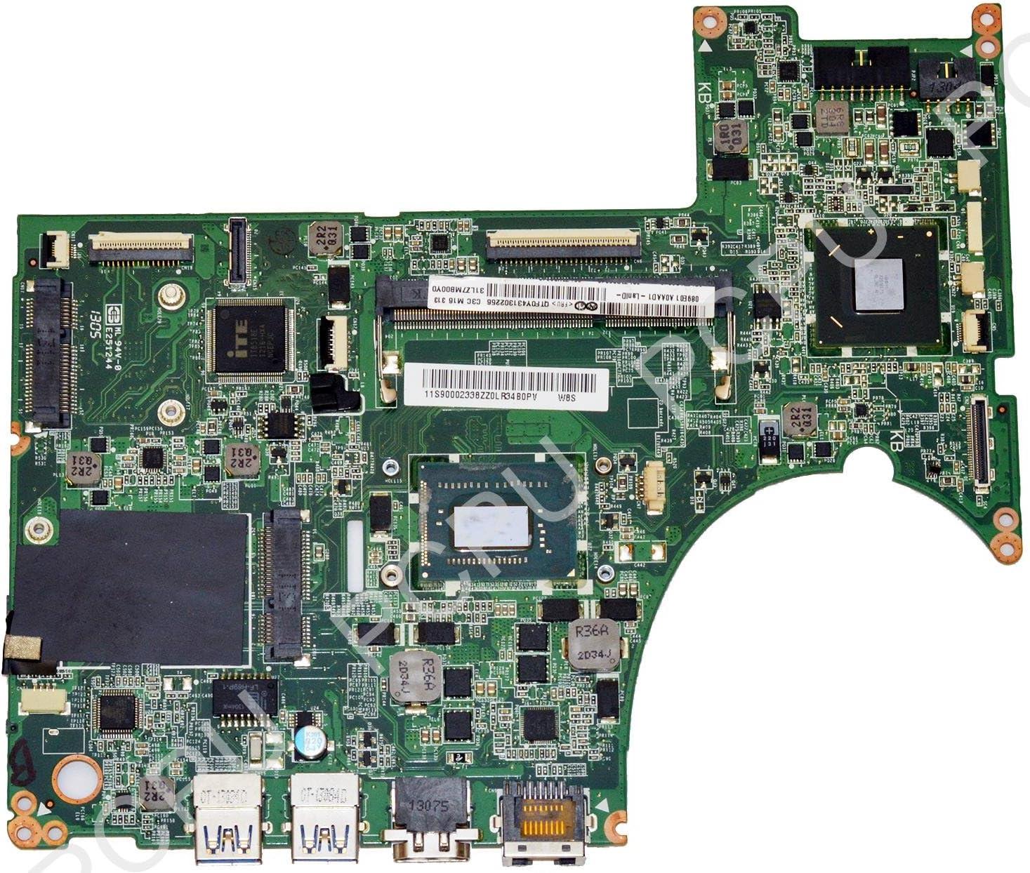 90002338 Lenovo U310 Laptop Motherboard w/Intel i3-3227u 1.9Ghz CPU