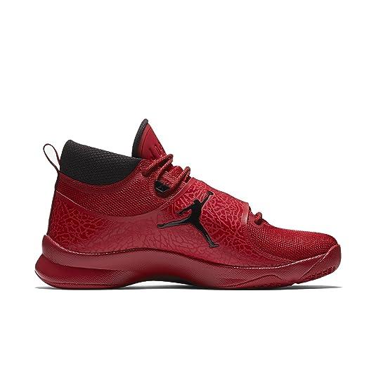 Jordan - Ordre Pré - Air Jordan Super-mouche 5 'rouge Puissance' Po - 881571 601 - Eu 44,5 - 10,5 - 9,5 Uk - Cm 28,5