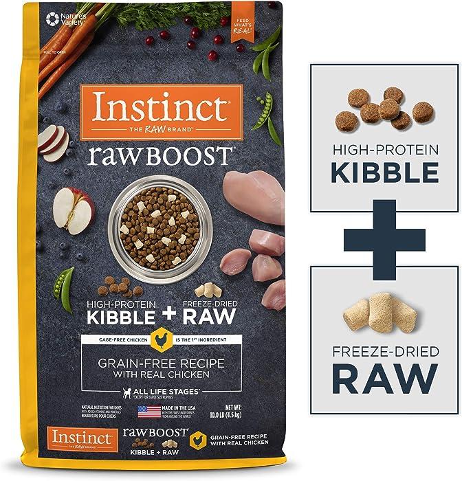 The Best Raw Instinct Frozen Dog Food