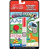Melissa & Doug On the Go ColorBlast No Mess Alphabet Invisible Ink Coloring Pad Travel Activity– 24 Pages