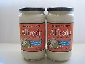 Trader Joe's (Giotto's) Alfredo Pasta Sauce 16.9 Oz. (Pack of 2)