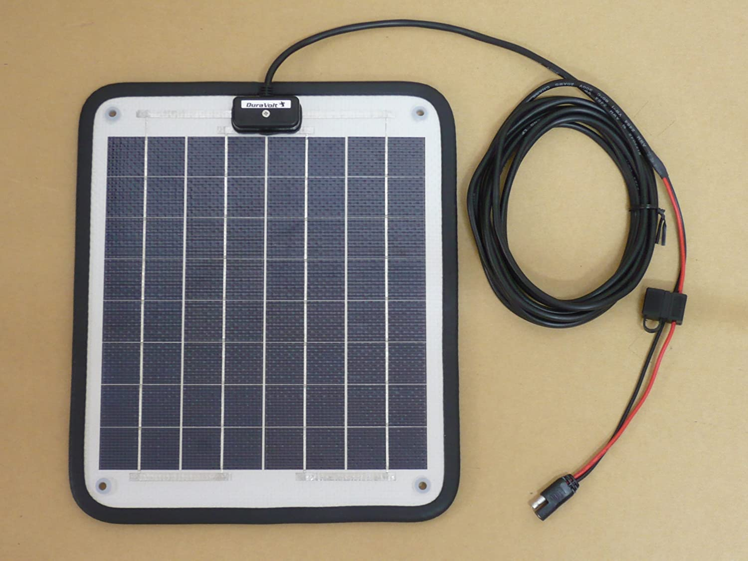 Marine solar panel installations first mate marine inc - Amazon Com Solar Battery Charger 16 6 Watt 1 Amp Boat Rv Marine Trolling Motor Solar Panel 12 Volt No Experience Plug Play Design