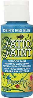 product image for DecoArt Patio Paint, 2-Ounce, Robin's Egg Blue