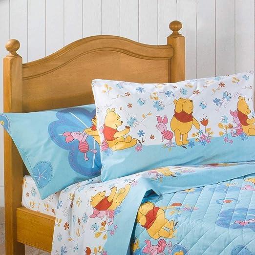 Disney Completo Lenzuola Winnie The Pooh Caleffi Flanella Per Letto Singolo Q216 Azzurro Tessili Per La Casa Casa E Cucina Jsph In