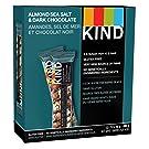 KIND Bars Almond Sea Salt Dark Chocolate 12ct, Gluten Free, 40g