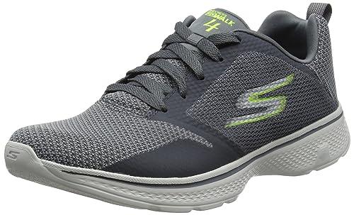 Skechers Go Walk 4-Solar, Zapatillas Para Hombre, Azul (Blue), 41 EU