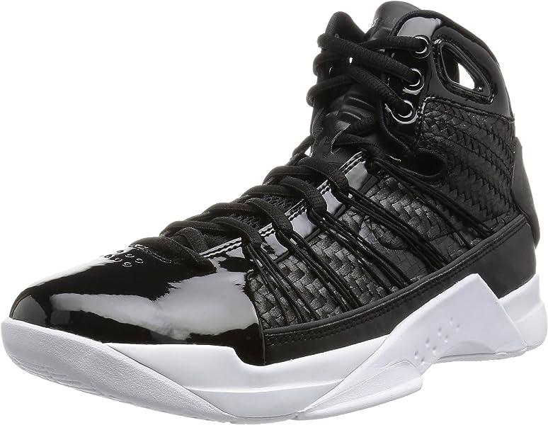 purchase cheap 1fb0e c9d9d Nike Hyperdunk Lux Men Retro Lifestyle Basketball Sneakers New Black White  - 8