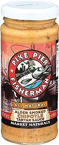 Pike Place Seafood Market, Sauce Chipotle Tartar, 8.5 Ounce