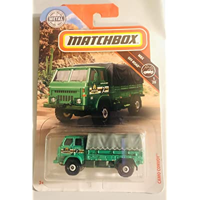 Generic, Matchbox, Camo Convoy 80/20 Green Off Road 1/20: Toys & Games