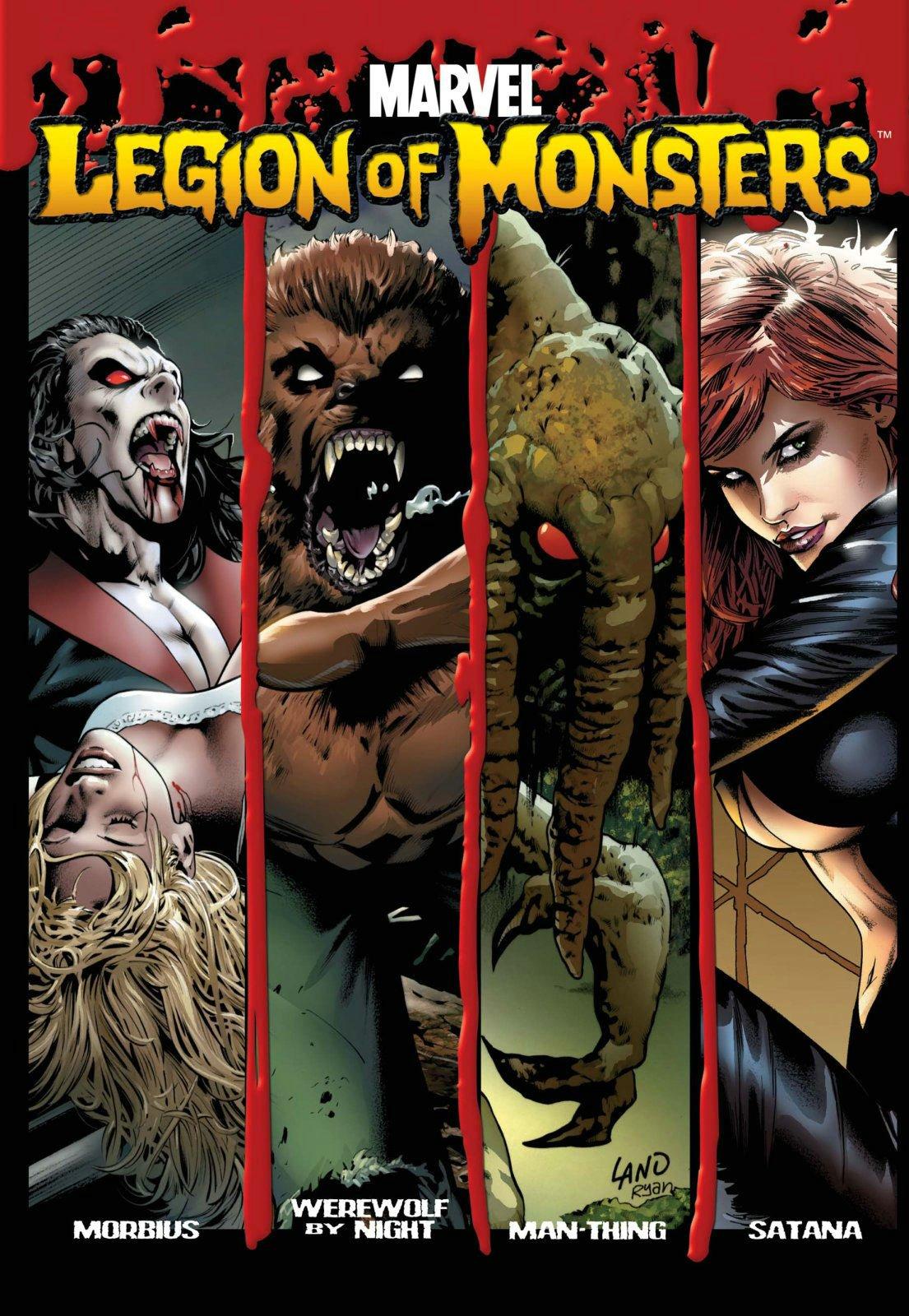 Legion Of Monsters HC: Amazon.es: Huston, Charlie, McKeever ...