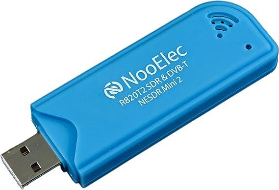 Nooelec NESDR Mini 2 USB RTL-SDR y Conjunto de Receptores ADS-B, Sintonizador RTL2832U y R820T2, Entrada MCX. Radio Definida por Software de Bajo Costo: Amazon.es: Electrónica
