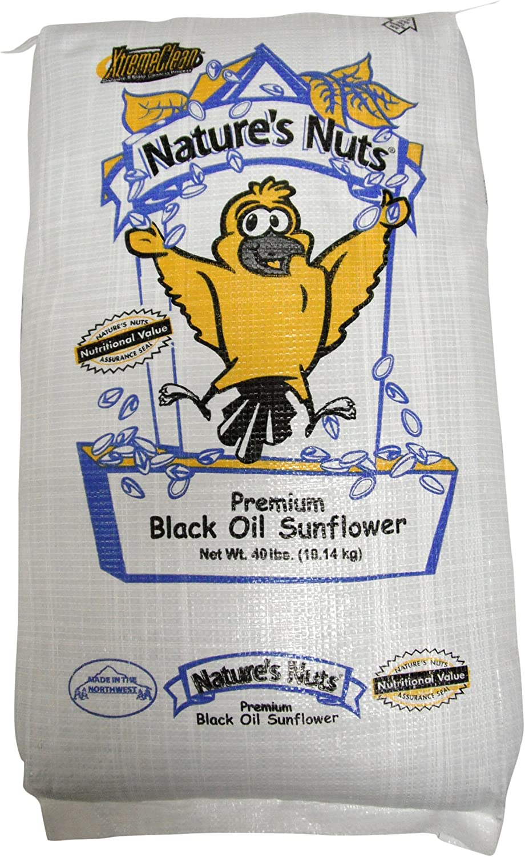 Chuckanut Products 00036 40-Pound Premium Black Oil Sunflower