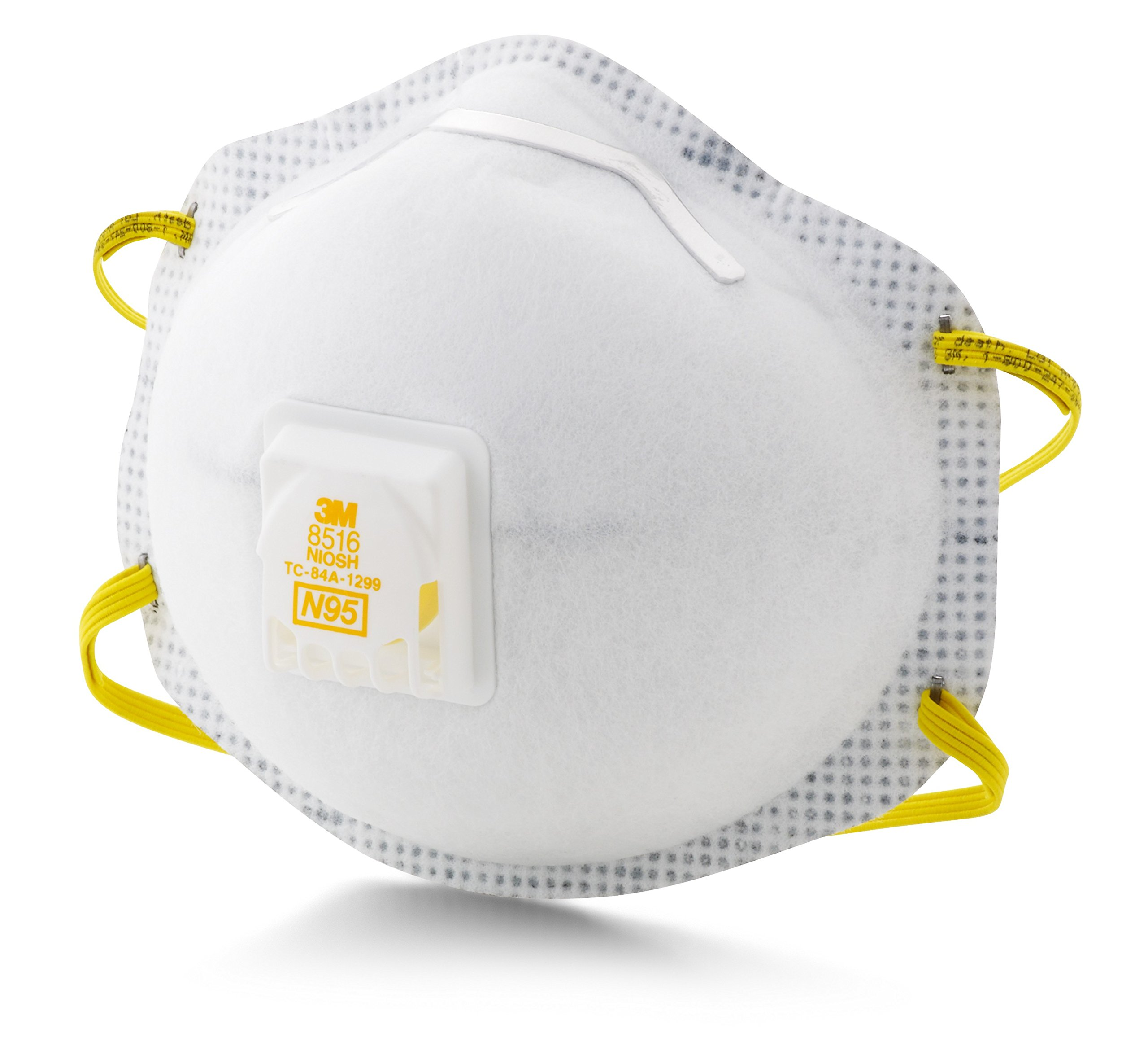 3M Particulate Respirator 8516, N95, with Nuisance Level Acid Gas Relief (Pack of 10) by 3M Personal Protective Equipment (Image #3)