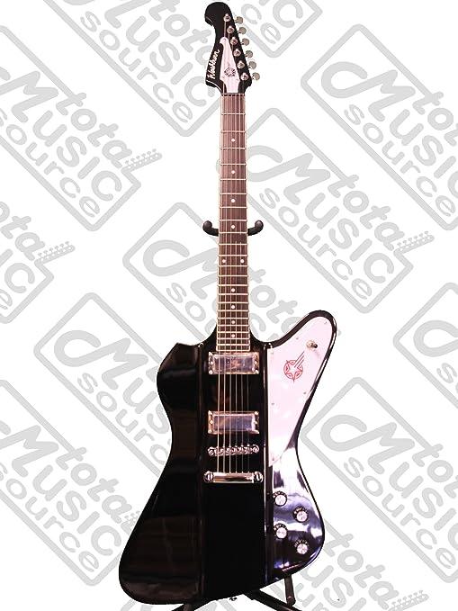 Washburn ps10b Paul Stanley Kiss negro Starfire guitarra eléctrica ...