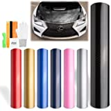 5ft X6ft White 5D HIGH GLOS Carbon Fiber Vinyl Air Release Pockets Bubble Free