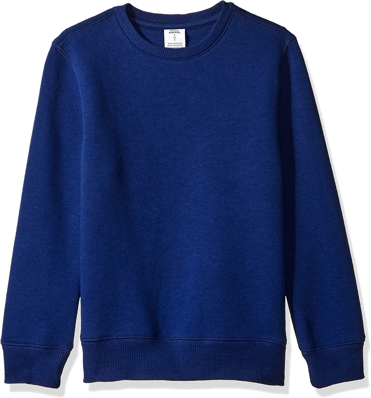 Amazon Essentials Boy's Crewneck Sweatshirt