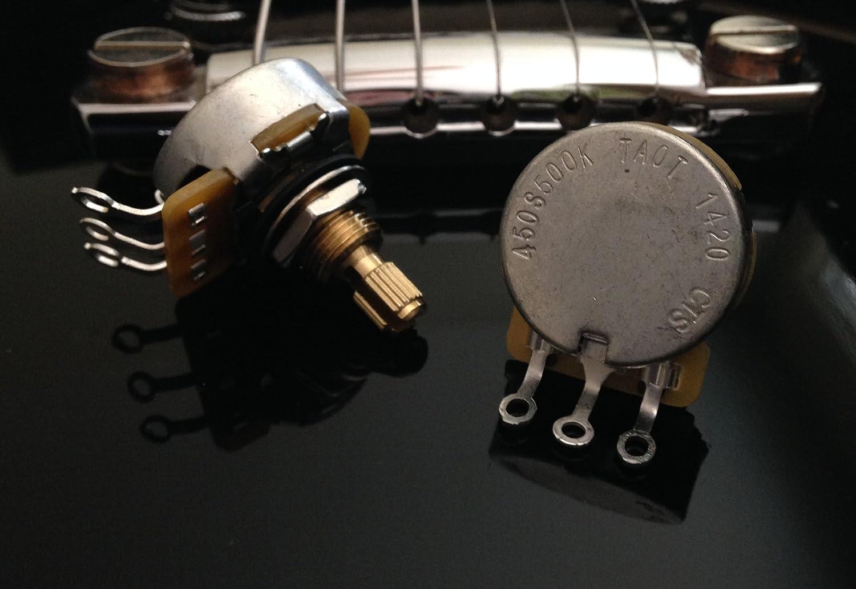 The Art Of Tone Deluxe Standard Short Shaft Wiring Kit Epiphonelespaulstudiowiring Les Paul Studio Http Www For Gibson Cts 500k Pots 022uf 400v Orange Drop Caps Musical Instruments
