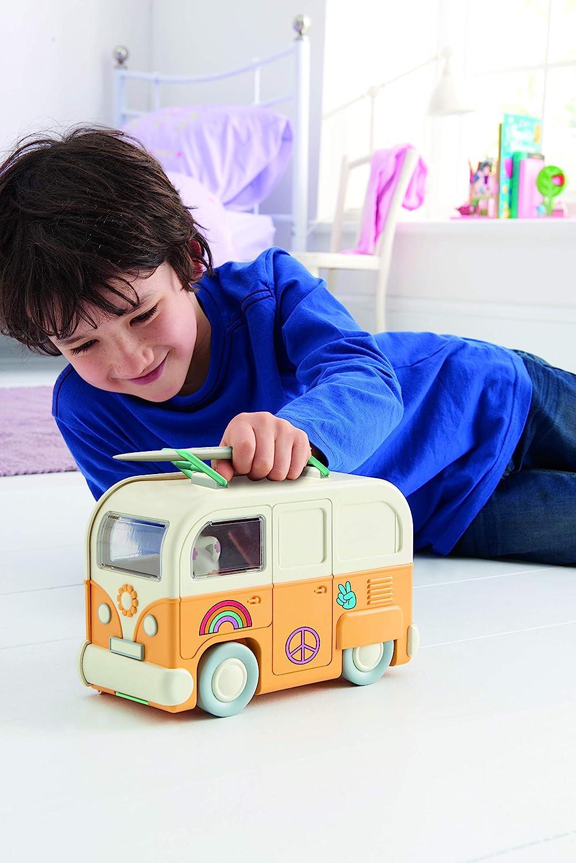 Multicolore TOMY Fuzzikins-Mon Camper Van E72788