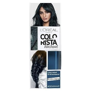 745cb9419a9 L'Oreal Paris Colorista Washout Denim Blue Semi-Permanent Hair Dye 80ml