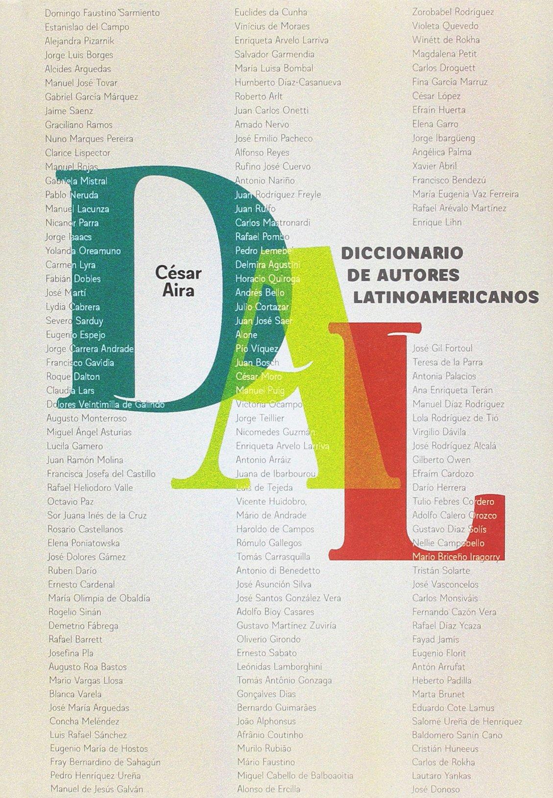 Diccionario de autores latinoamericanos (Escrituras): Amazon ...