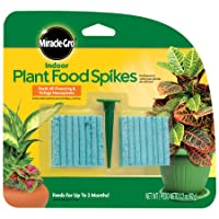 Amazon.com deals on Miracle-Gro Indoor Plant Food 48-Spikes 300157