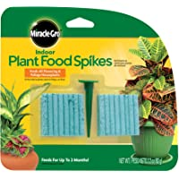 Deals on 48-Count Miracle-Gro Indoor Plant Food Spikes