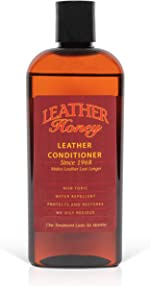 Leather Honey Leather Conditioner, Best Leather Conditioner Since 1968. for use