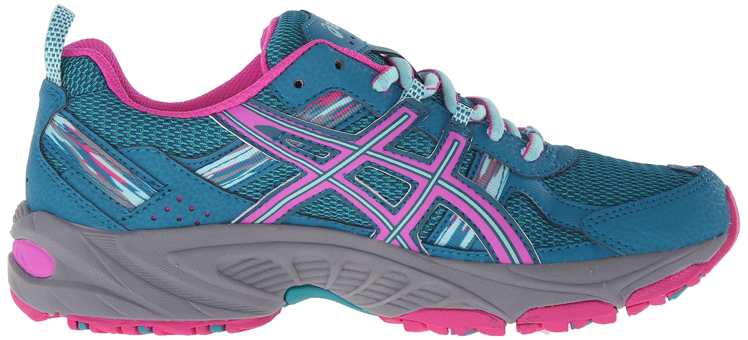 ASICS Women's Gel-Venture 5 Trail Runner Ocean Depth/Pink Glow/Aruba Blue 6 M US by ASICS (Image #7)