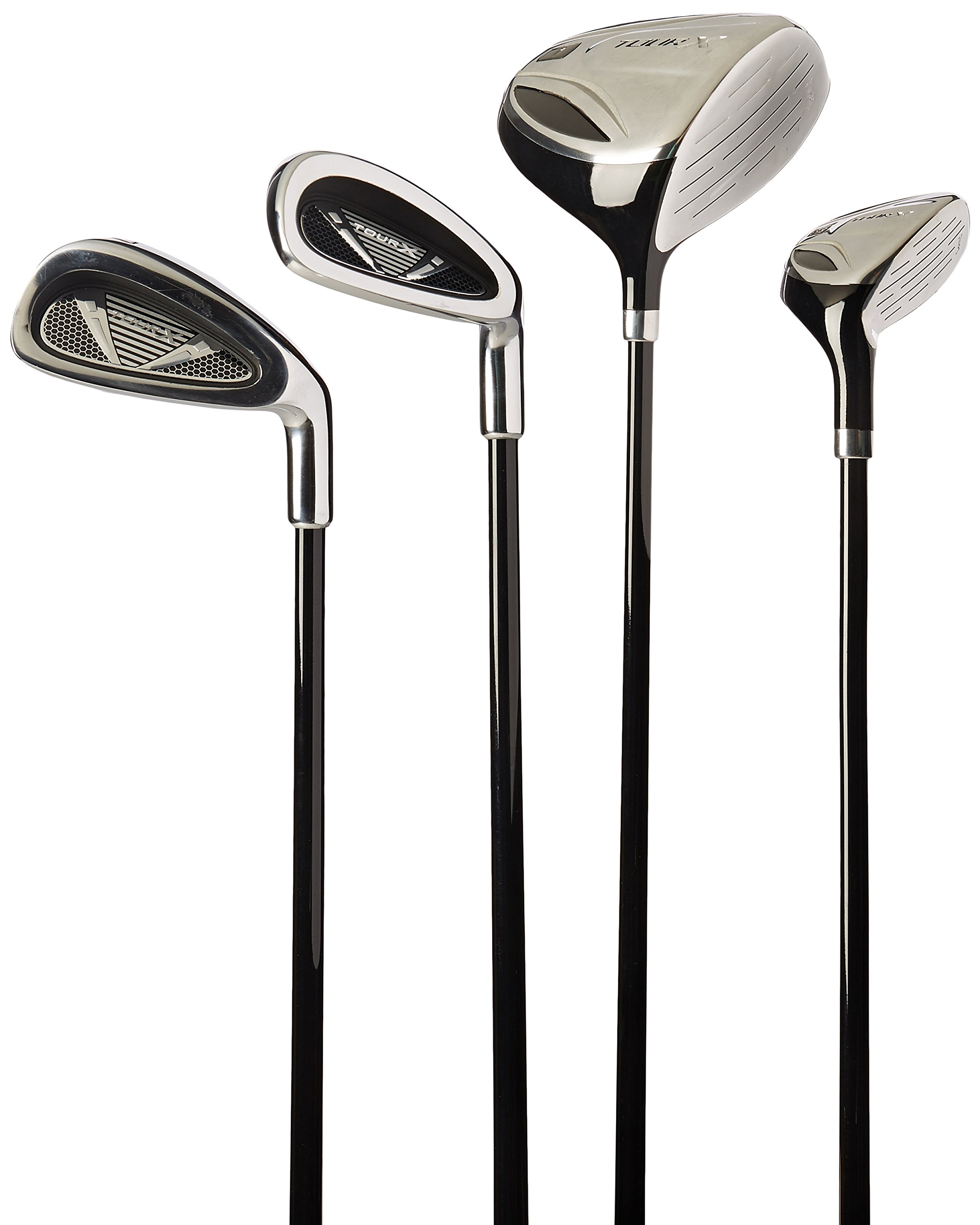 Merchants of Golf Tour X 5-Piece Junior Golf Complete Set with Stand Bag, Right Hand, 12+ Age, Graphite, Regular by Merchants of Golf (Image #3)