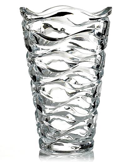 Amazon Mikasa Crystal Vase Atlantic 9 Home Kitchen
