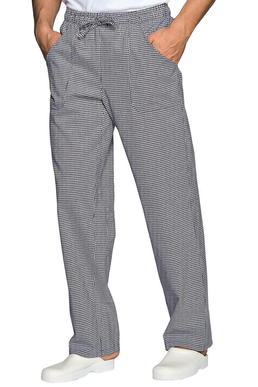 Pantalone da cucina pied de poule