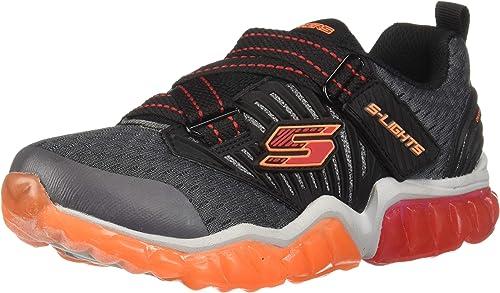 Choose SZ//Color. Skechers Kids 90721L Boys Rapid Flash-Uproar Sneaker 12.