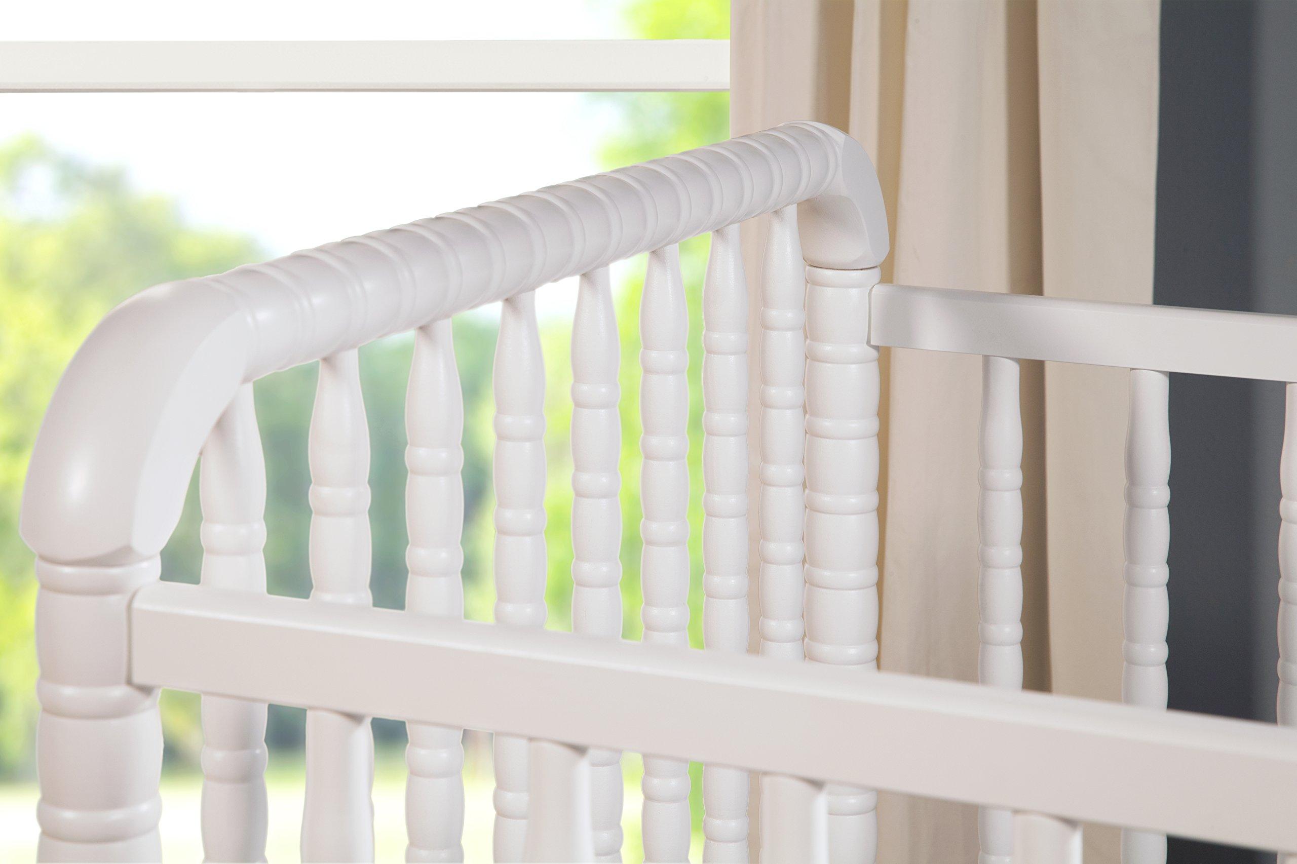 DaVinci Jenny Lind Stationary Crib, White by DaVinci (Image #5)