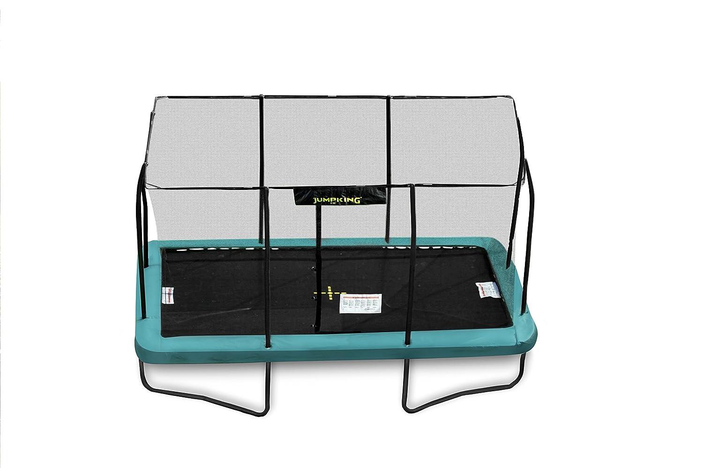 Cama elástica rectangular JumpKing de 2,4 m x 3,6 m.: Amazon.es ...